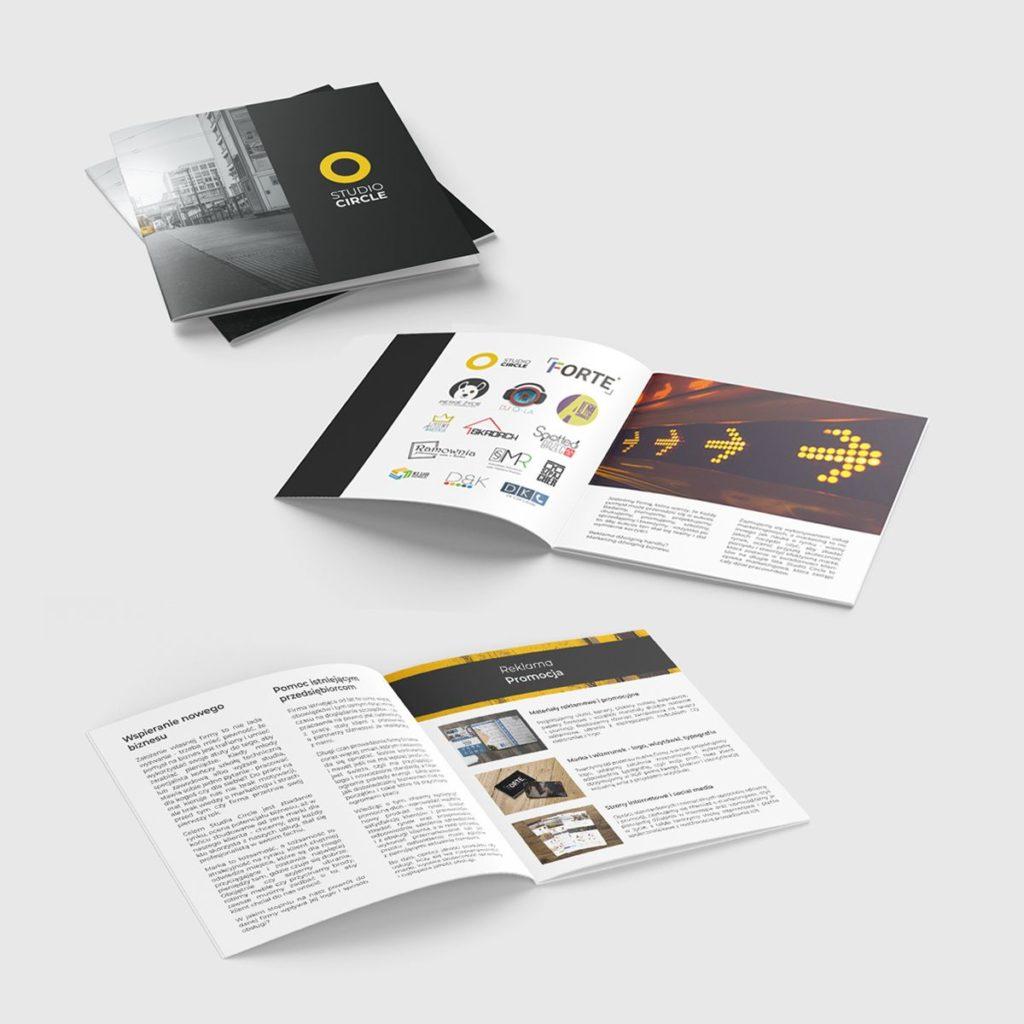 agencja reklamowa katalogi broszury